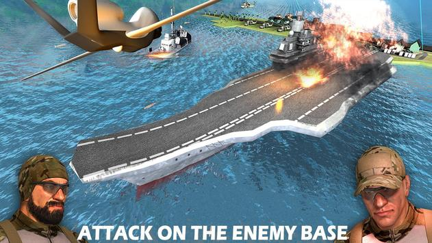 Modern Drone Air Strike Battle! Gunship Combat 3D screenshot 14