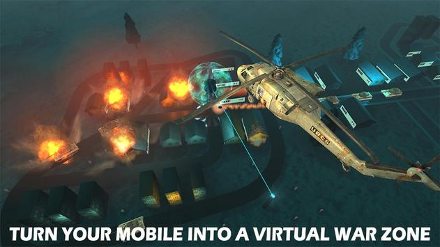 Modern Drone Air Strike Battle! Gunship Combat 3D screenshot 2