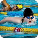 Swimming Pool Flip Diving