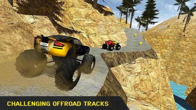 Offroad Monster Truck Driver apk screenshot