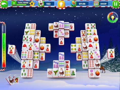 Mahjong Solitaire :Classic Christmas Journey 2018 screenshot 6