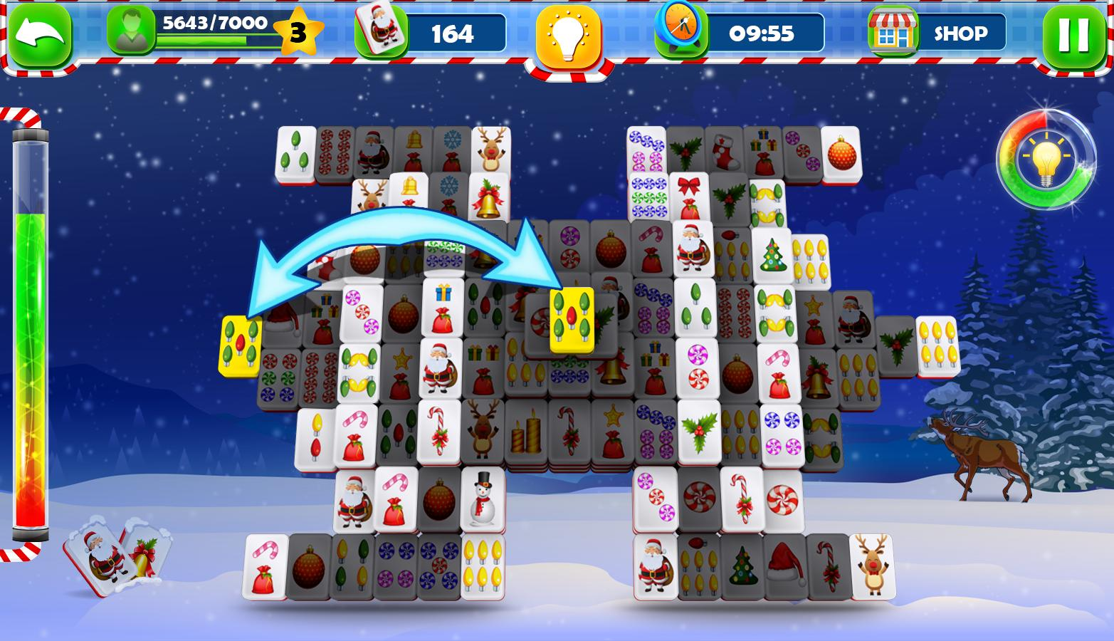 Mahjong Solitaire :Classic Christmas Journey 2018 for