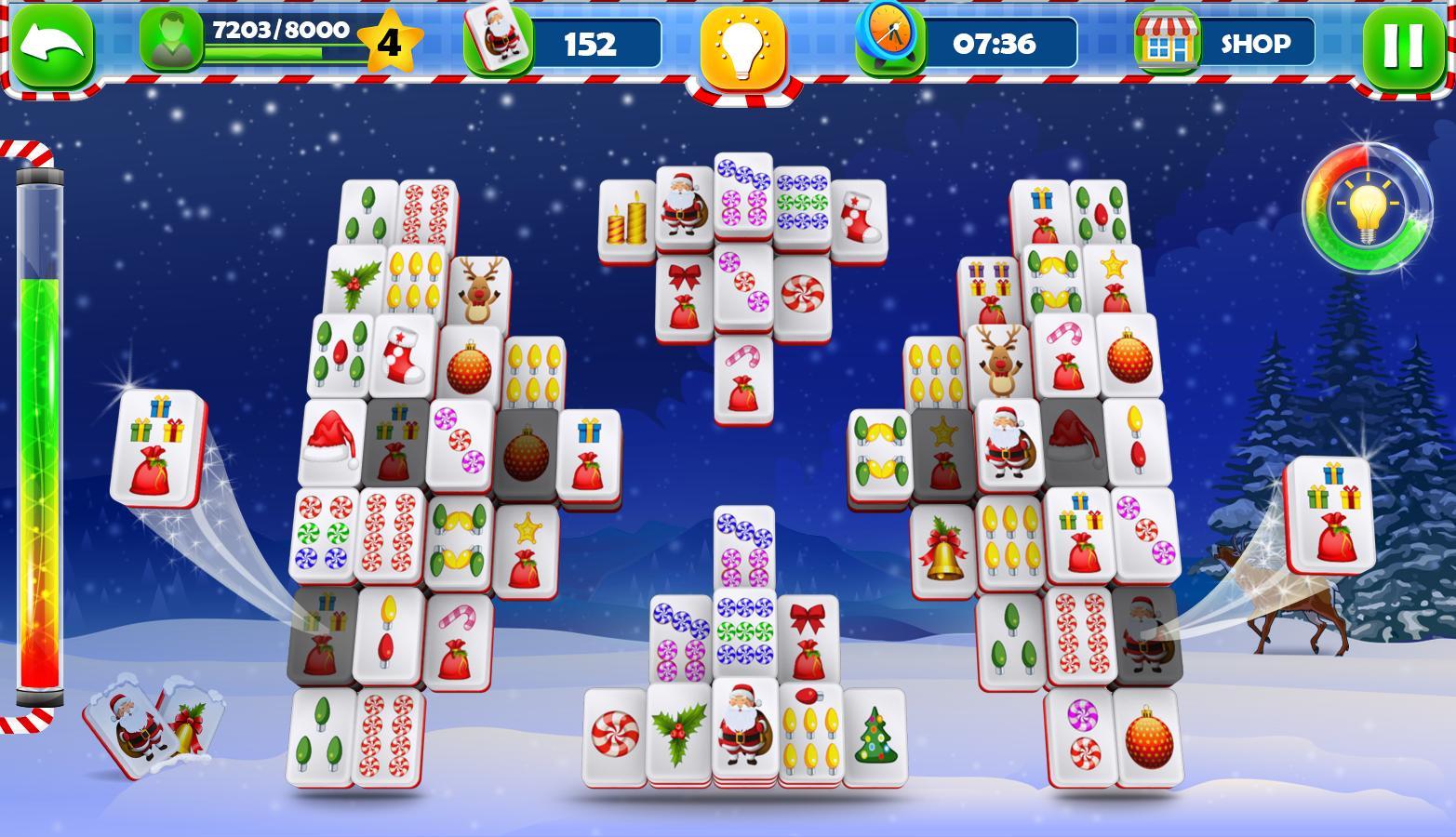 Mahjong Christmas.Mahjong Solitaire Classic Christmas Journey 2018 For