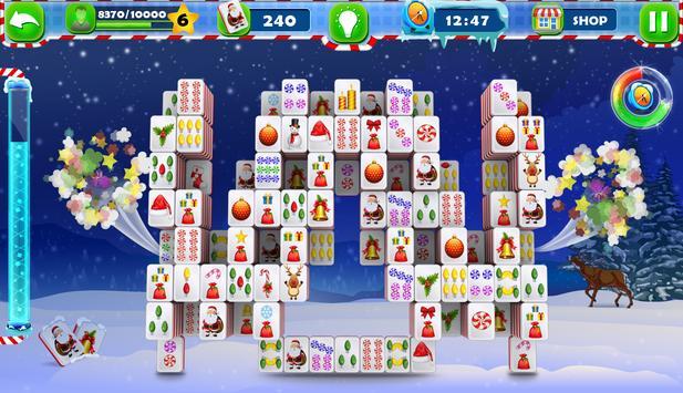 Mahjong Solitaire :Classic Christmas Journey 2018 screenshot 3