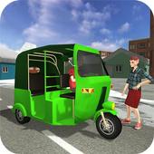 Snow City Tuk Tuk Driving 2017 icon