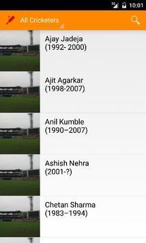 Top Indian Cricketers screenshot 1
