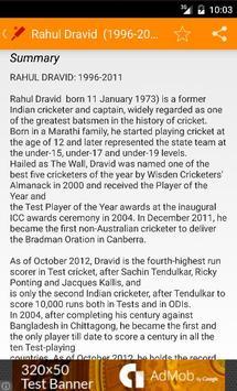 Top Indian Cricketers screenshot 2