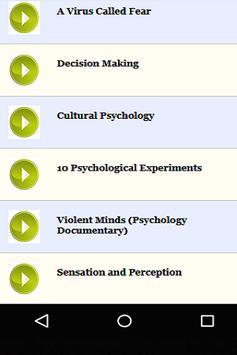 Psychology Documentaries screenshot 1