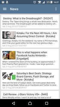 Game News apk screenshot