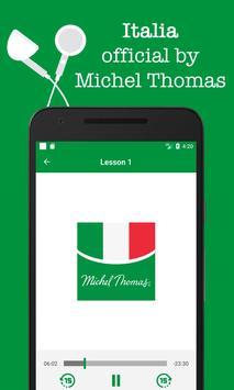 Italian - Michel Thomas method, audio course poster