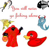 Red Ghost Fishing icon