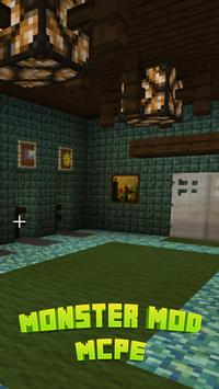 Monster Mod For MCPE* poster