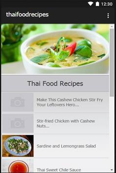 Thai Food Recipes poster