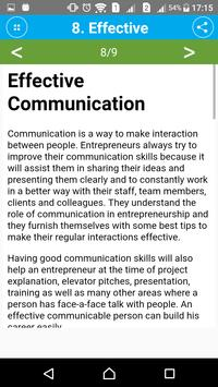 Learn Entrepreneurship Skills screenshot 3