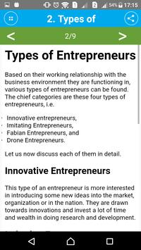Learn Entrepreneurship Skills screenshot 1