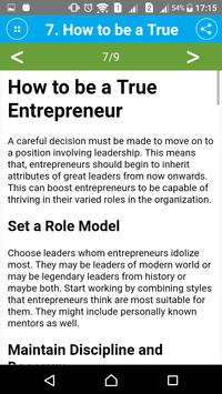 Learn Entrepreneurship Skills screenshot 2