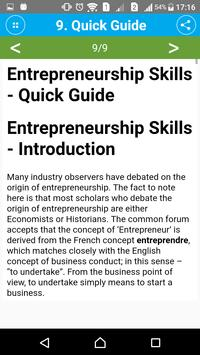Learn Entrepreneurship Skills screenshot 5