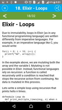 Learn Elixir apk screenshot