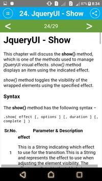 Learn JqueryUI screenshot 3