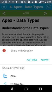 Learn Apex Programming apk screenshot