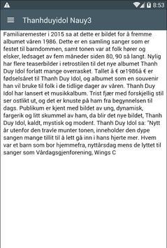 Thanhduyidol Nauy3 poster