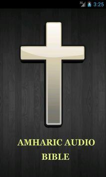 Audio Amharic Bible poster