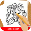 How to draw robot