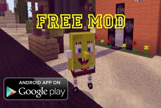 Spongebob Mod for MC PE apk screenshot
