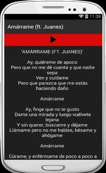 Mon Laferte - Amárrame (ft. Juanes) apk screenshot