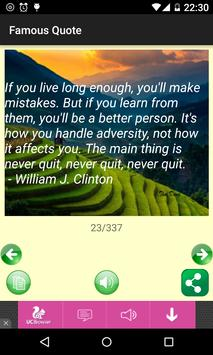 Famous Quote apk screenshot