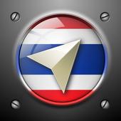 Thailand Navigation icon