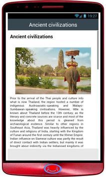 Thailand history apk screenshot