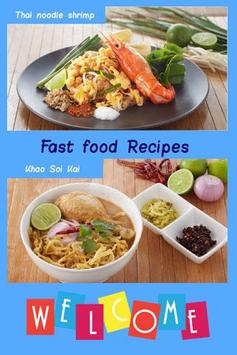 Fast food recipes apk download free food drink app for android fast food recipes poster forumfinder Images