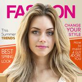Magazine Cover Photo Frame icon