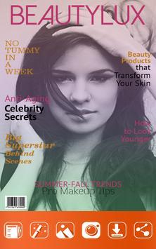 Minha Foto na Capa de Revista imagem de tela 5