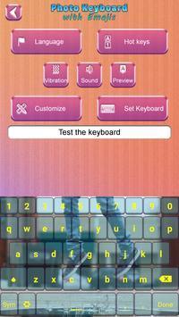 Photo Keyboard with Emojis screenshot 2