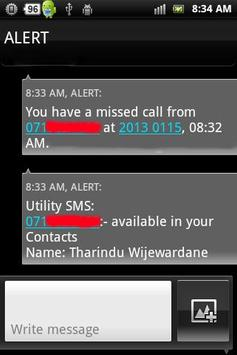 Utility SMS poster