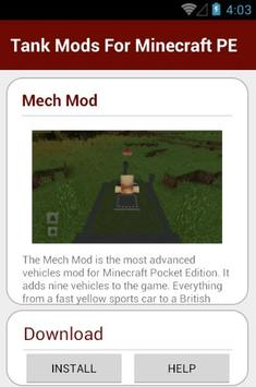 Tank Mods For Minecraft PE screenshot 18