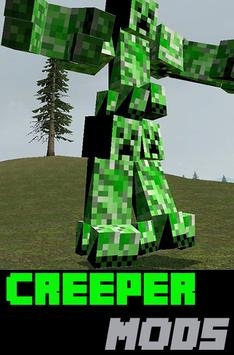 Creeper Mods For Minecraft PE poster