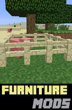 Furniture Mods For MinecraftPE poster