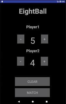 Pool Scorekeeper apk screenshot