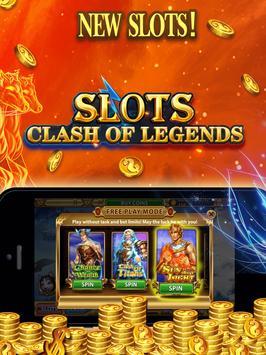 Slots Clash of Legends screenshot 9