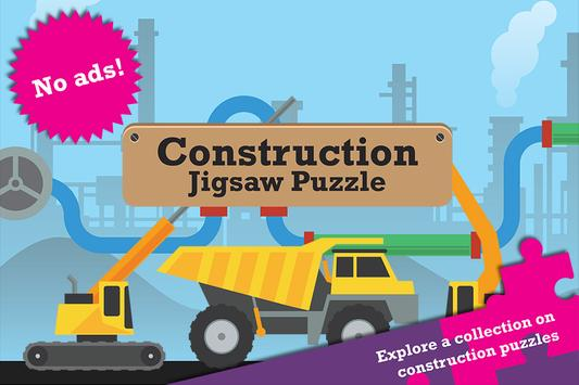 Construction Jigsaw Puzzle poster