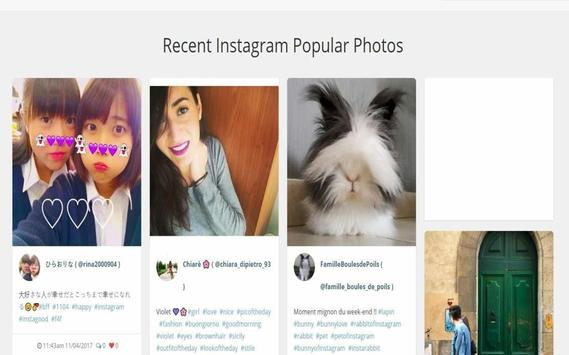 Instagrum - without account use it apk screenshot