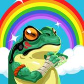 the amazing frog adventur icon