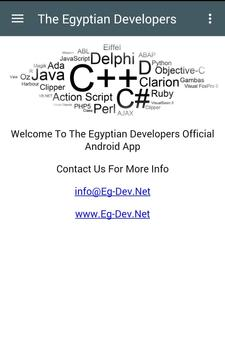 The Egyptian Developers poster