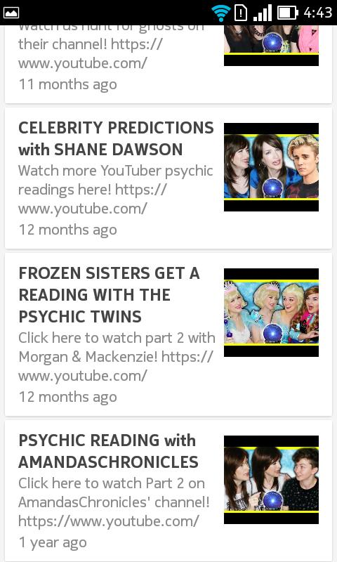 the psychic twins future predictions for Android - APK Download