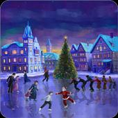 Christmas Rink icon