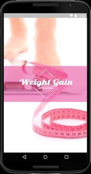Weight Gain - How To Gain Weight poster