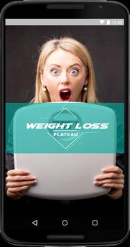 Weight Loss Plateau poster